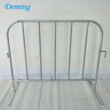 Kilang Galvanized Metal Crowd Control Barrier Pagar