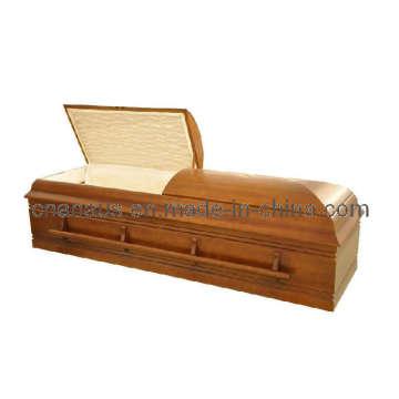 Jewish/Orthdox Style Solid Poplar Wood Casket (3JH1005)
