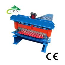 Blechtafel-gewölbte Zink-Dach-Stahlmaschine