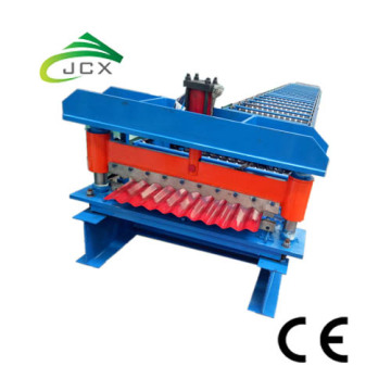 Metallplåt Corrugated Zinc Roof Steel Making Machine