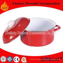 Sunboat Enamel Casserole Withenamel Lid / Cover Kitchenware