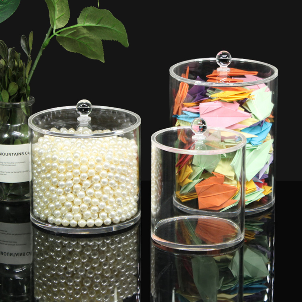 Clear Acrylic Canister Set