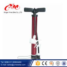 Foldable mini steel floor pump/high quality football air pump/ colorful mini floor pump for sale