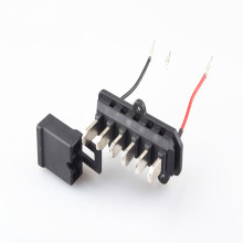 E-Bike Moulding-Steckverbinder EV-Batteriekabelbaum