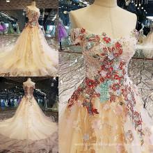 LS00118 lace appliques wholesale western dress pattern beautiful lady fashion dress