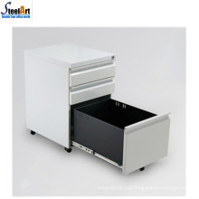Good quality hot sale office furniture moveable 3 drawer file cabinet