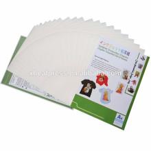 Inkjet Iron-On transferência de calor papel cor clara para t-shirt