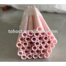 Grande qualidade isolante tubo de cerâmica 99.8 alumina zircônia esteatita tubo de cerâmica al2o3 tubo