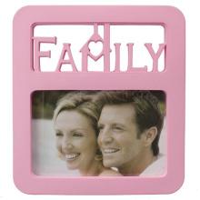 Rosa Familie 4x6inch Fotorahmen für Geschenk