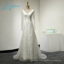Quality-Assured Lace A-Line High Quality Wedding Dress