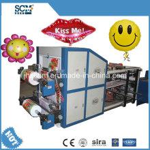 Venta caliente automática máquina de fabricación de globos para globos de papel de aluminio