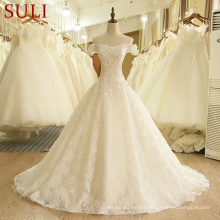 SL-407 Custom Made Alibaba Desginer Wedding Dresses 2017 online
