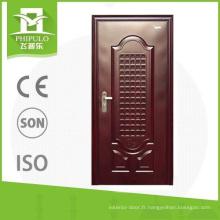 portes en acier de sécurité pour la décoration des maisons