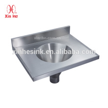 Stainless Steel Combined Sluice Sink, Medical Sluice Sink Combination for Hospital Sanitary Ware
