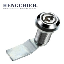 Silvery Zinc Alloy Chrome Plated Cabinet Cam Lock