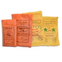 Colorful bopp laminated pp woven bag fertilizer rice grain sugar packing bag 50kg