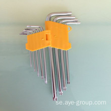 L Typ Hex Allen Key med Star Head