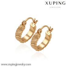 29700 -Xuping Jewelry Fashion Gold Plated Huggies Earring