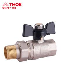 Fabricante hidráulico da válvula de bola da água do punho da válvula de controle na zona industrial de Yuhuan