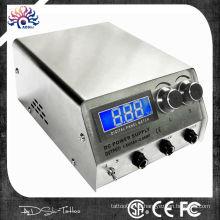 Dispositivo digital del poder del tatuaje del LED, fuente de alimentación para la máquina del tatuaje