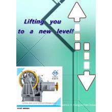 800-2000kg VVVF CANON ascenseur Traction motoréducteur