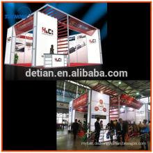 Aluminiumprofil modular Standard Messestand Auftragnehmer für Australien Messe
