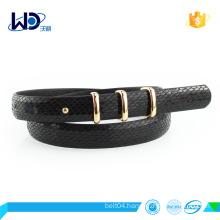 newest style pu belt factory design belt
