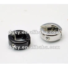 Europe and the United States when set auger stainless steel double ear jewelry