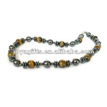 Hämatit Tiger Perlen Halskette