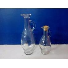 Glass Oil Bottle with Beak
