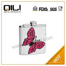 6oz 18/8 304 FDA und LFGB hochwertige Valentines Geschenk-set