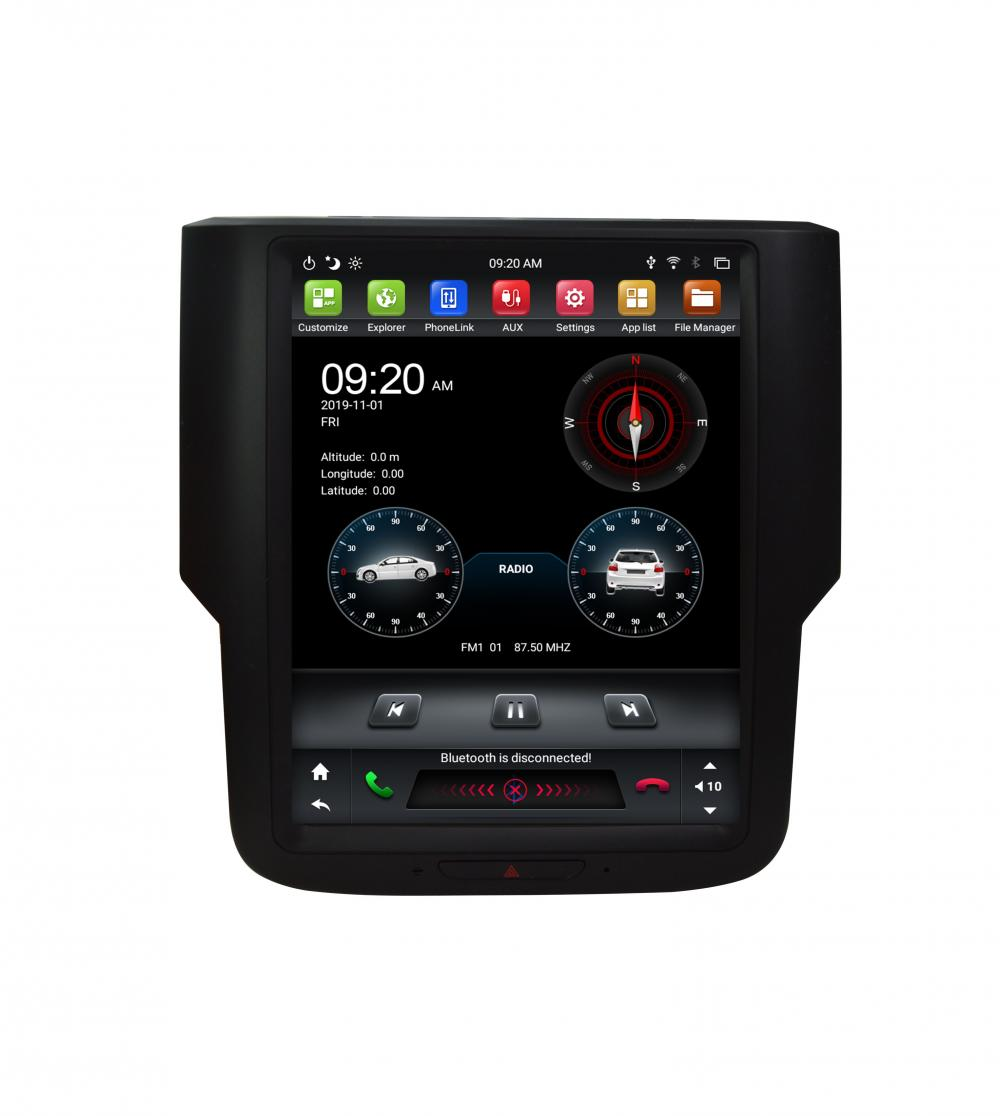 Tesla Unit For Dodge Ram Android Car Dvd Gps Player