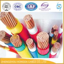 Медный сердечник ПВХ-изоляцией управления КВВ ПВХ оболочка кабеля