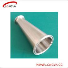 Accesorio de tubería de acero inoxidable sanitario Tri Clamp Reductor concéntrico