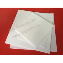 Feuille de fibre de verre remplie de carbone / PTFE avec 1200X1200mm