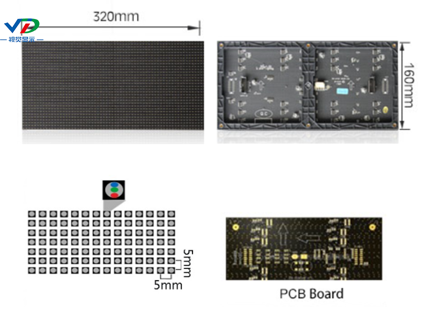 Color Full LED Display Module