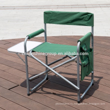Outdoor logo printed steel director chair folding.