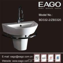 Bassin semi-piédestal en céramique EAGO (UPC + CUPC, SASO)