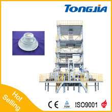 PE and PP 3~5 Layer Co-Extrusion Film Blowing Machine