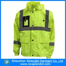 China atacado fábrica de segurança Parka High Visibility Jacket