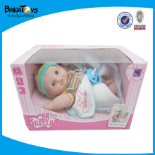 FUNNY 9INCH VOICE BELLA DOLL BABY TOY