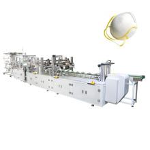 Máquina automática de alta velocidade da máscara do copo com válvula