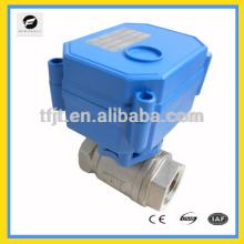 CWX15N батареи dc3-6В рабочая моторизованный шаровой клапан с большим потоком для системы протечки воды,автоматическая система контроля воды