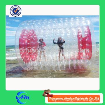 Crianças inflável água de rolo inflável água jogos