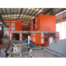 Блок контейнерного взвешивания и упаковки в мешках
