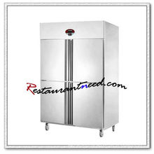 R128 4 Doors Fancooling/Static Cooling Reach-In Kitchen Refrigerator/Freezer