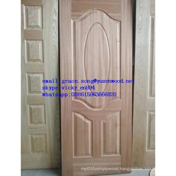 Hot Sale Wood Veneer Melamine Door Skin