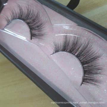 Wholesale mink lashes 3d mink eyelash with custom packaging