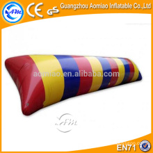 0.9mm gota de água de alta qualidade do PVC, saco de ar inflável divertido jogo de água