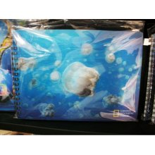 2015 Blue Nuken 3D Notebook for Gift